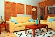 Sala de estar lujosa Foto de archivo libre de regalías