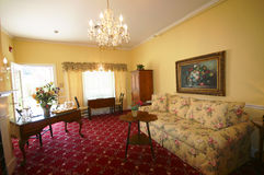 Sala de estar lujosa Fotografía de archivo