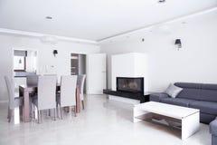 Sala de estar luxuosa Imagens de Stock Royalty Free