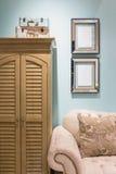 Sala de estar mediterránea del estilo Imagen de archivo libre de regalías