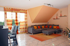 Sala de estar moderna. Fotografía de archivo
