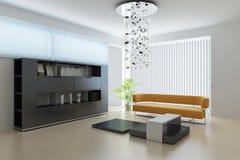 Sala de estar moderna Fotografía de archivo