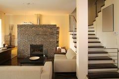 Sala de estar moderna Fotografía de archivo libre de regalías
