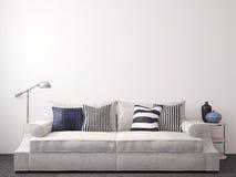 Sala de estar moderna Foto de archivo libre de regalías