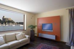 Sala de estar moderna Fotos de archivo