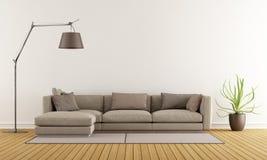 Sala de estar moderna Foto de Stock