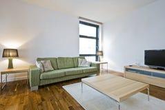 Sala de estar moderna Imagens de Stock Royalty Free