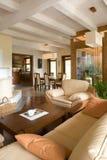 Sala de estar moderna con estilo. fotos de archivo libres de regalías