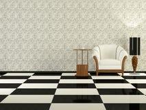 Sala de estar moderna de la elegancia Imagenes de archivo