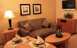 Sala de estar moderna de las vacaciones Fotos de archivo