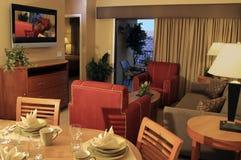 Sala de estar moderna de las vacaciones Imagen de archivo libre de regalías