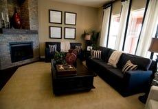Sala de estar moderna grande Imagen de archivo libre de regalías