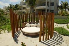 Sala de estar na praia Fotos de Stock Royalty Free