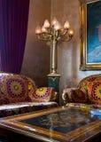 Sala de estar noble Imágenes de archivo libres de regalías