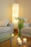 Sala de estar por la tarde Fotos de archivo