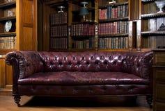 Sala de estar retra Foto de archivo libre de regalías