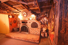 Sala de estar rústica Fotos de archivo