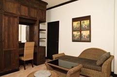Sala de estar tailandesa del estilo Foto de archivo libre de regalías