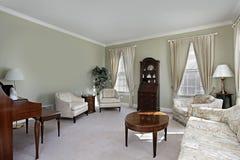 Sala de estar tradicional Foto de archivo