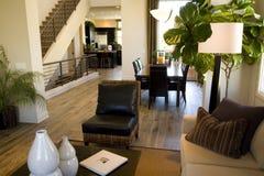 Sala de estar y vestíbulo Imagenes de archivo