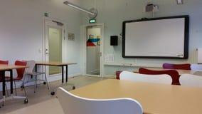 Sala de estudo - clara e moderna Imagens de Stock Royalty Free