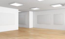 Sala de exposições Imagem de Stock Royalty Free