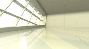 sala de exposições branca Foto de Stock