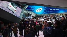 Sala de exposições de Audi nos carros de IAA Imagens de Stock