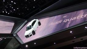 Sala de exposições de Audi nos carros de IAA Fotos de Stock