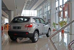 Sala de exposições dos carros Fotos de Stock Royalty Free