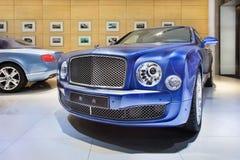 Sala de exposición de buen gusto de Bentley en Pekín, China Foto de archivo