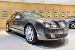 Sala de exposición de buen gusto de Bentley en Pekín, China Imágenes de archivo libres de regalías