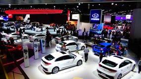 Sala de exposición de Hyundai Foto de archivo libre de regalías