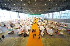 Sala de exposiciones de la 12ma exposición totalmente rusa Foto de archivo