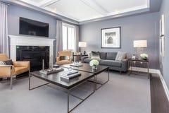Sala de família imagens de stock royalty free
