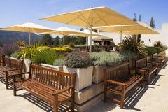 Sala de gosto em Sterling Winery em Napa Valley imagem de stock royalty free