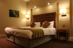 Sala de hotel de luxo Fotografia de Stock Royalty Free