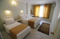 Sala de hotel padrão fotografia de stock royalty free