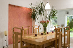 Sala de jantar Foto de Stock Royalty Free