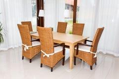 Sala de jantar. Foto de Stock
