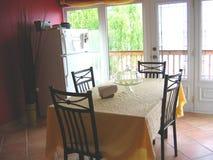 Sala de jantar Imagem de Stock Royalty Free