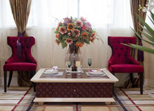 Sala de jantar americana clássica Fotografia de Stock Royalty Free