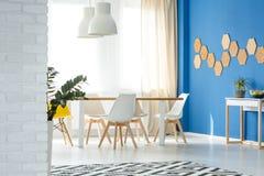 Sala de jantar com decoração natural Imagens de Stock