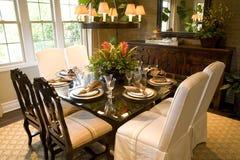 Sala de jantar da mansão Imagem de Stock