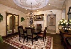 Sala de jantar da mansão Fotografia de Stock Royalty Free