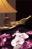 sala de jantar do Chinês-estilo. foto de stock royalty free