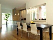 Sala de jantar e cozinha Imagens de Stock Royalty Free