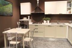 Sala de jantar e cozinha Imagens de Stock