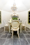 Sala de jantar elegante Fotografia de Stock Royalty Free