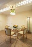 Sala de jantar elegante imagens de stock royalty free